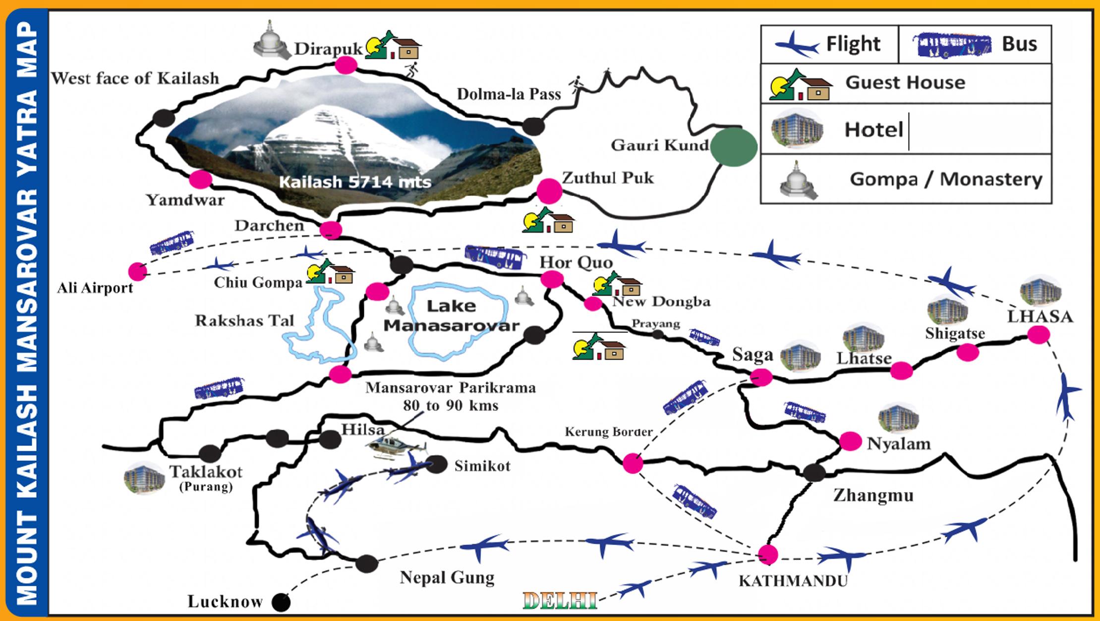 Kailash Mansarovar Yatra 2019 Sarva Tours Amp Travels Pvt